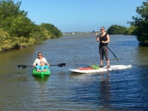 Kayak and SUP nature tour near Cocoa Beach