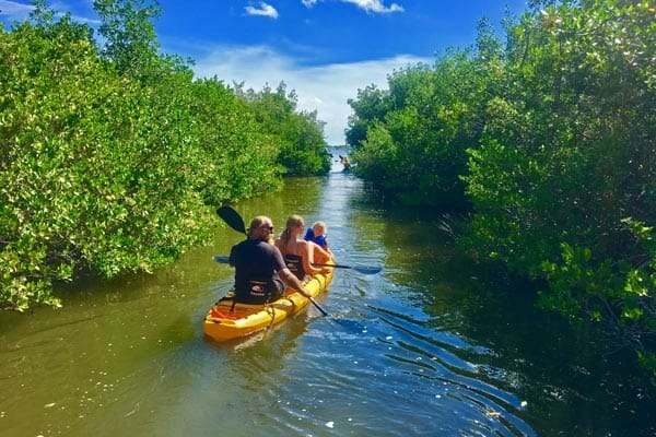 Kayak rentals near Cocoa Beach, FL