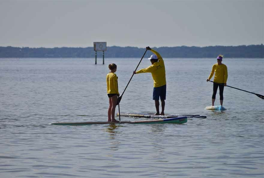 Private SUP surfing lessons near Cocoa Beach, FL