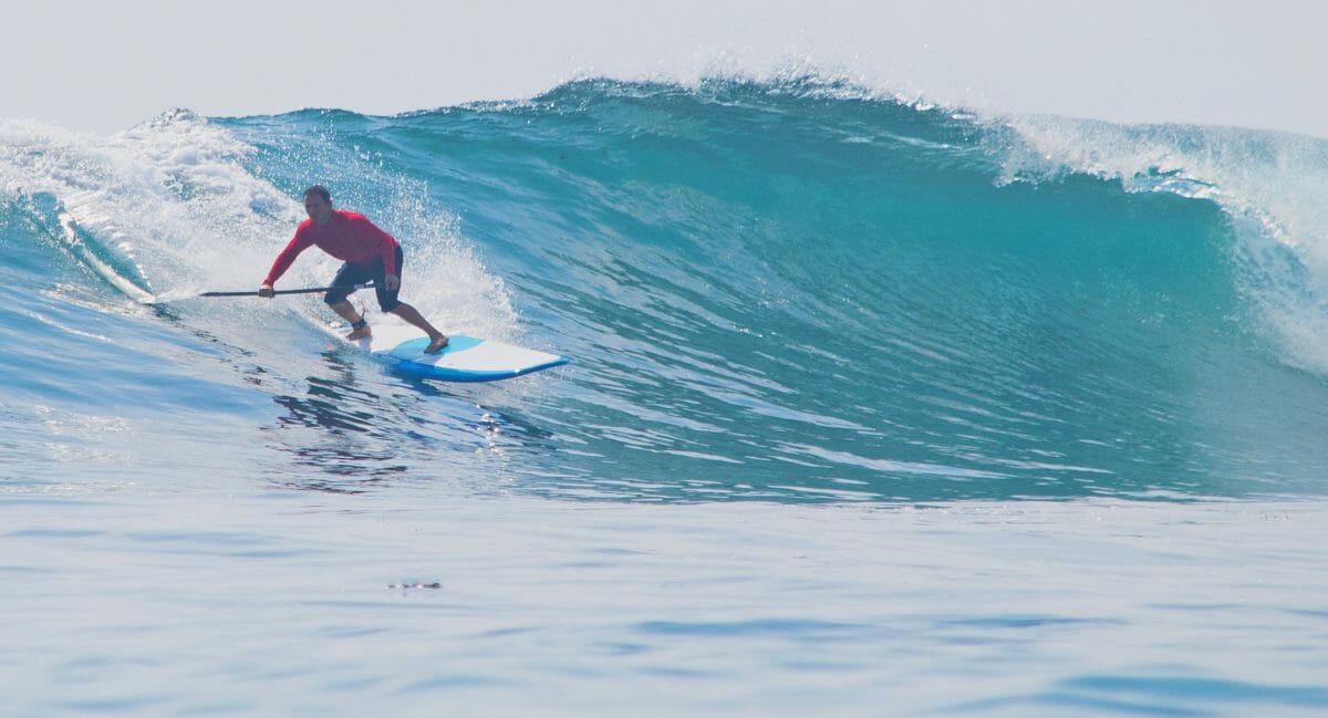 Girard Middleton Pro Paddle Surfer Big Wave Surfing Bali Indonesia owner SoBe Surf and Paddle