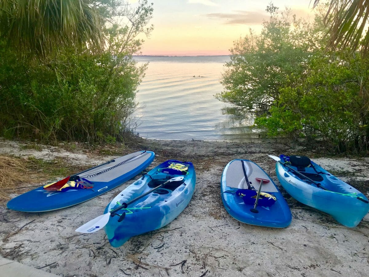 SOBE SURF and PADDLE BOARD SUP AND KAYAK Tours Rentals LAUNCH AT BREVARD VETERANS MEMORIAL PARK PADDLE BOARD AND KAYAK NATURE TOURS PADDLE BOARD RENTALS KAYAK RENTALS