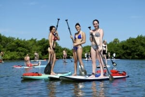 Stand up paddle lessons and rentals near Cocoa Beach, FL