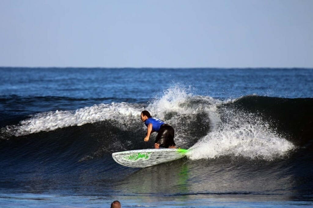 Girard Middleton competing in Punta Sayulita, Mexico