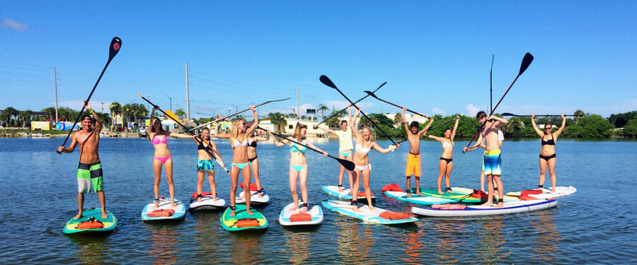Stand Up Paddle SUP Lessons In Cocoa Beach, FL