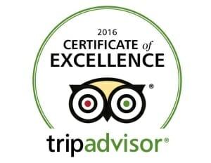 SoBe Surf - TripAdvisor Certificate of Excellence