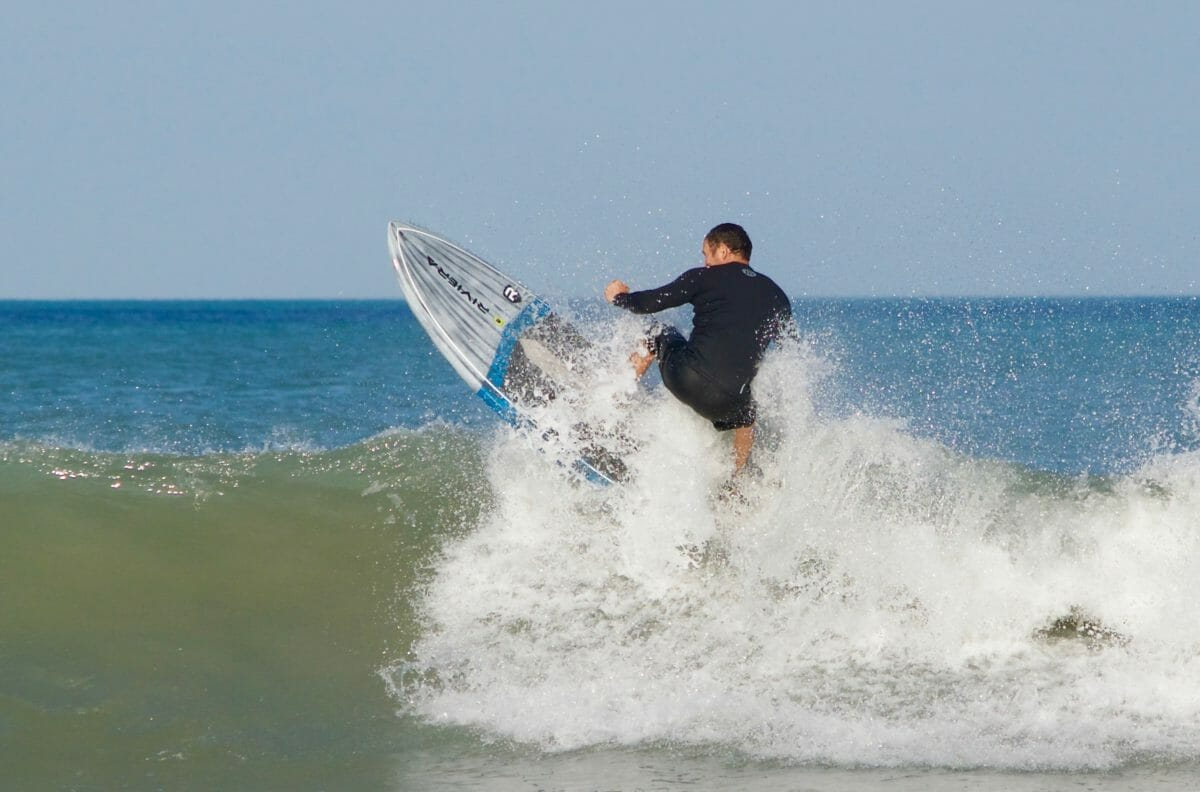 SUP surfing in Cocoa Beach with Girard Middleton