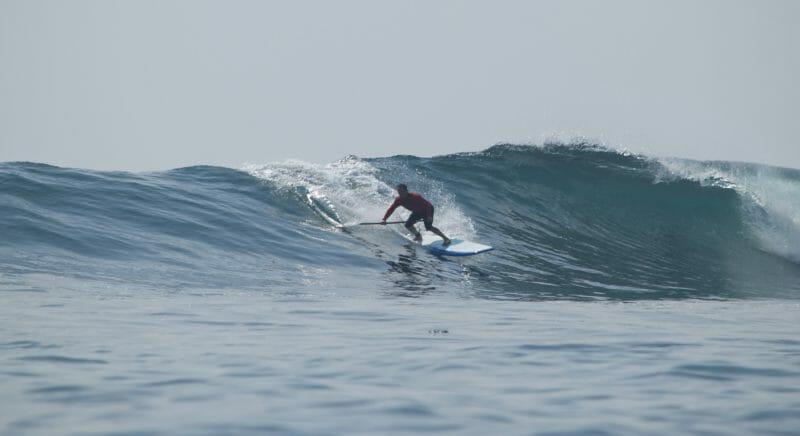 Girard Middleton pro SUP surfer Indonesia 2015