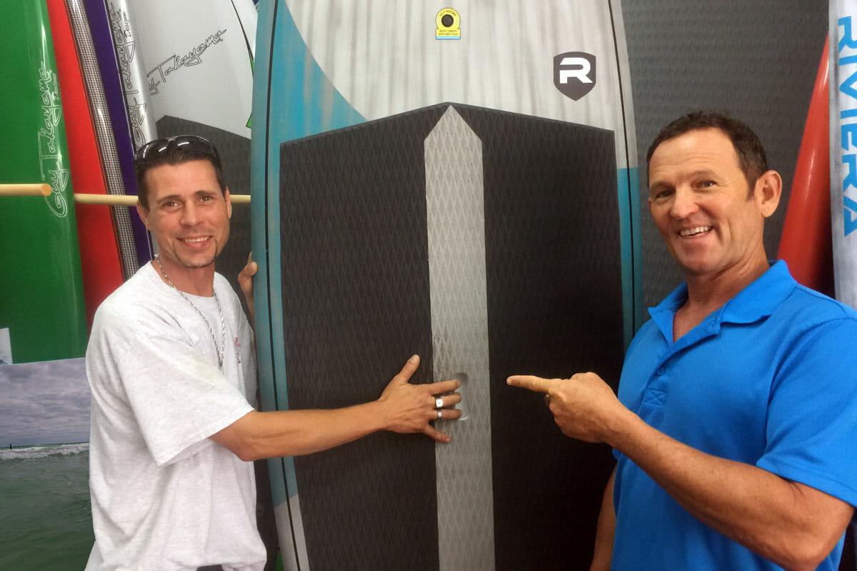 Cocoa Beach SUP Board Ding Repair