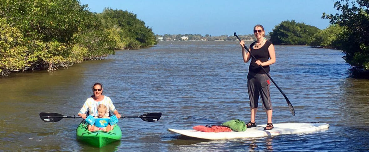Stand Up Paddle And Kayak Eco Tours Cocoa Beach Sobe