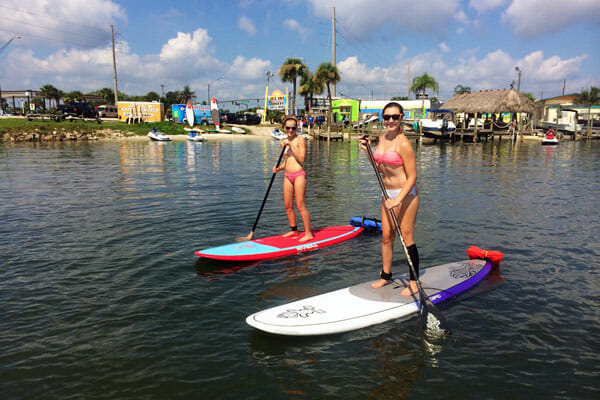 Stand up paddle lesson near Cocoa Beach, FL