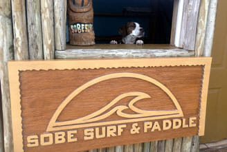 SUP with your pup in Cocoa Beach, FL