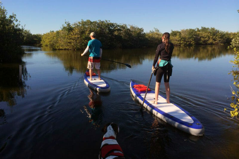 stand up paddle tour in Cocoa Beach, FL