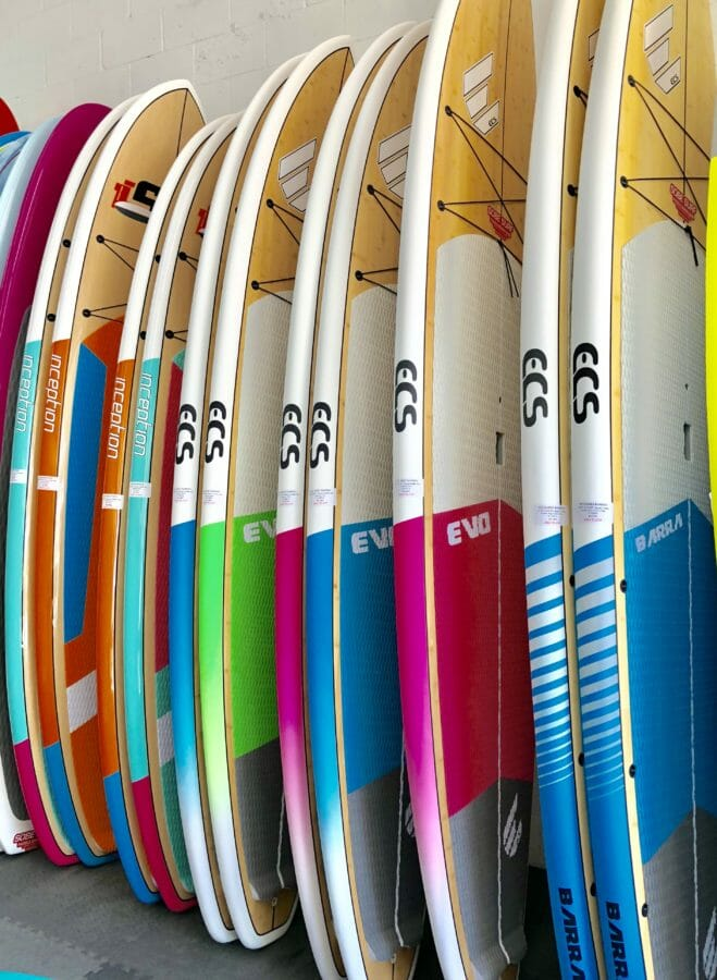 ECS Boards Australia Paddle Boards in SoBe Surf & Paddle