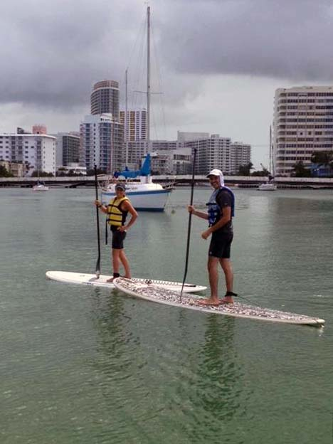 South Beach Miami SUP Lesson