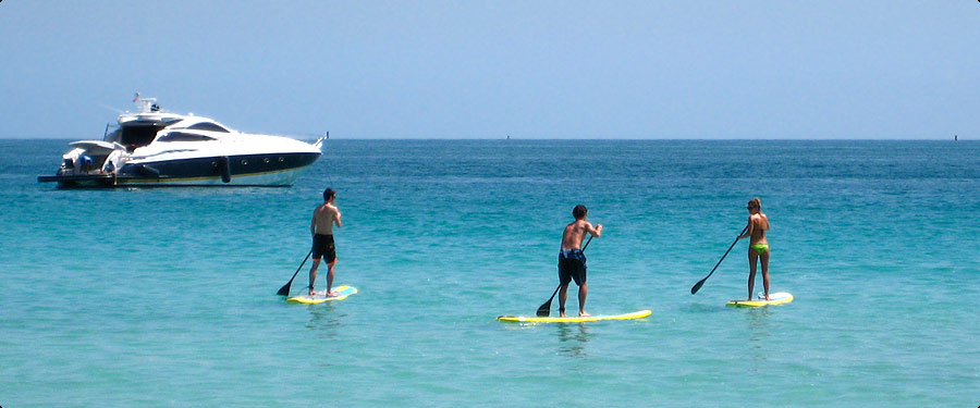 SUP Standup Paddle Board SoBe Surf Tours in Miami