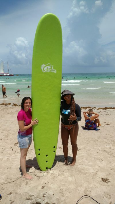 Surfing Lesson South Beach Miami Florida SoBe Surf & Paddle