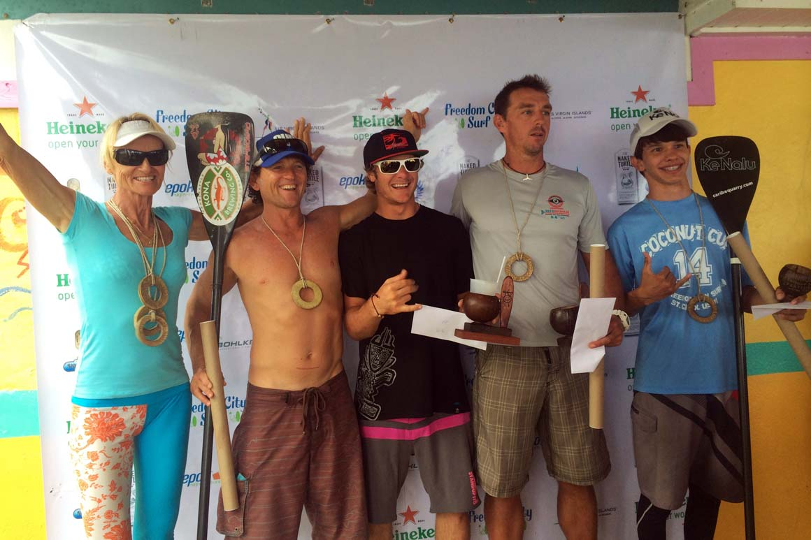 St Croix SUP competition finalists