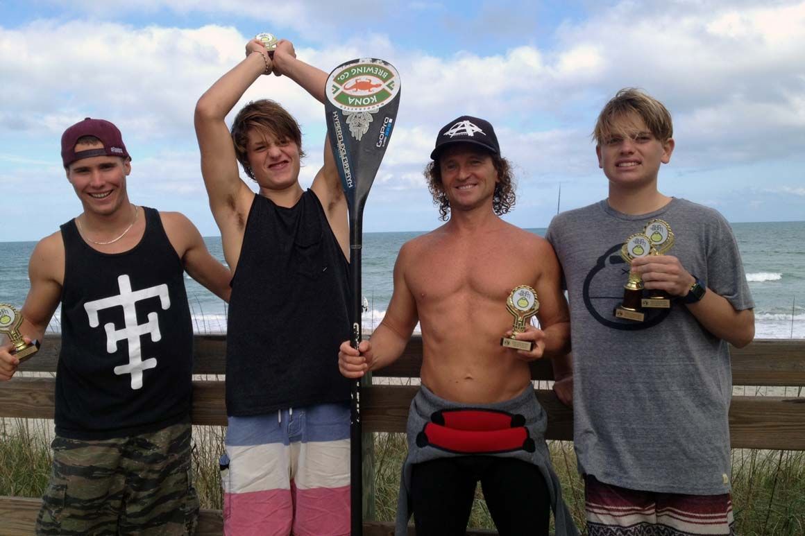 ESA SUP Surf Contest Fisher Grant