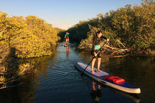Ulumay Nature Sanctuary stand up paddle tour in Cocoa Beach, FL