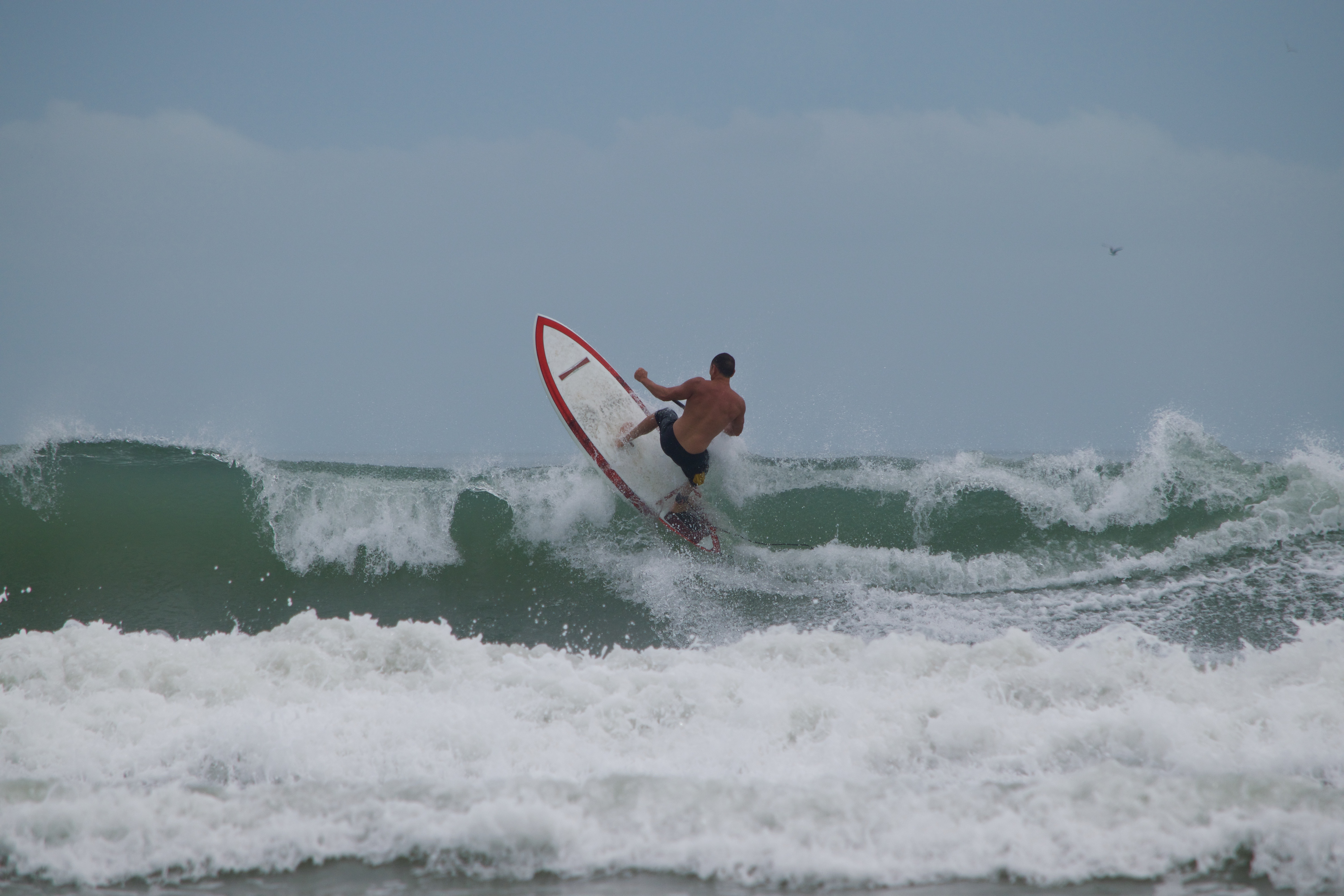Girard Middleton Pro Paddle Surfer Surfing in Cocoa Beach owner SoBe Surf and Paddle