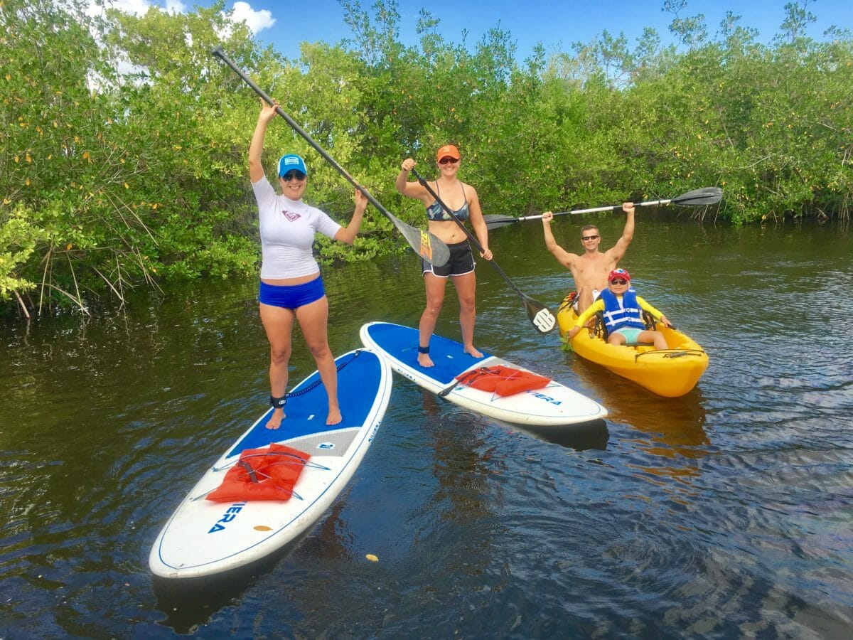 Sobe Surf Paddle Board Sup Als Kayak Tours Florida