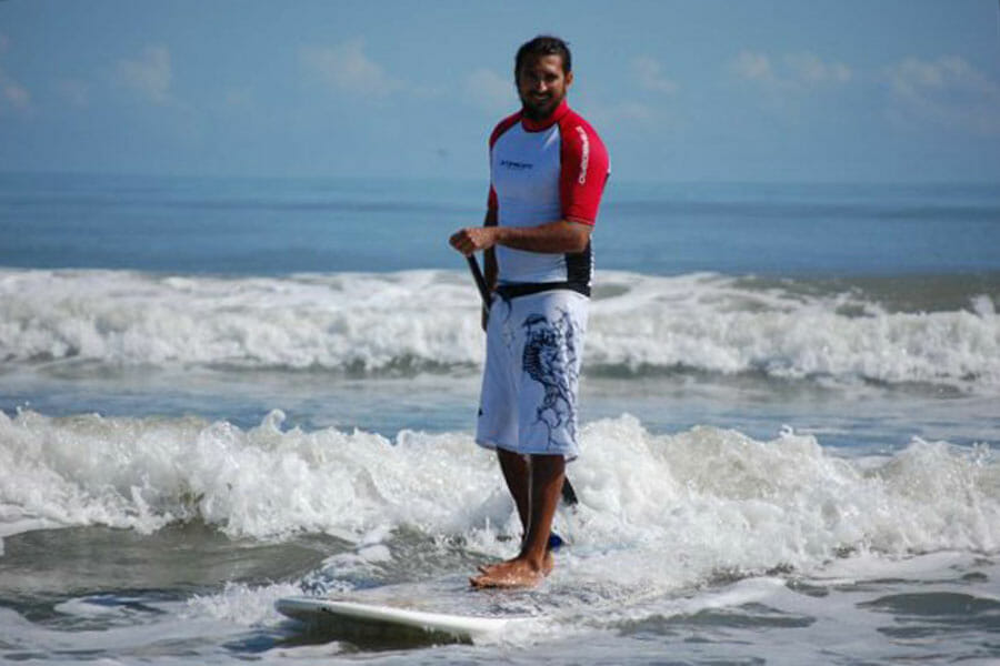 Stand up paddle surf lesson in Cocoa Beach