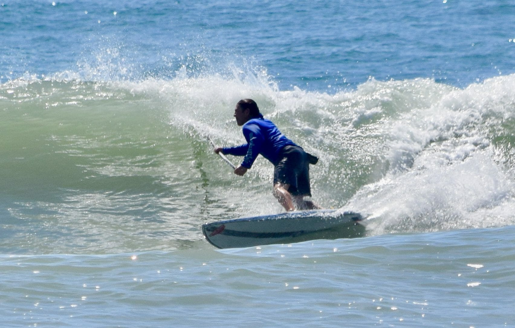 Girard Middleton on Infinity SUP B-line SoBe Surf & Paddle