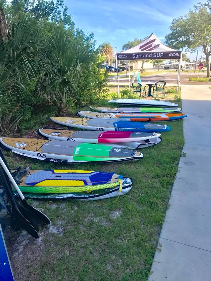 SoBe Surf & Paddle Demo Day ECS Boards Australia